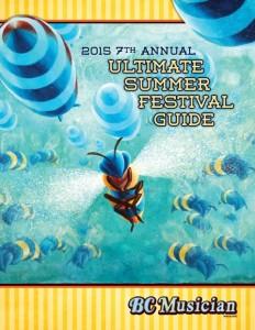 BCMM 110 Ultimate Summer Festival Guide cover art by Milan Basic